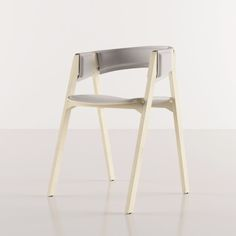 Derme Chair is a minimalist design created by Portugal-based designer Bruno Marques.