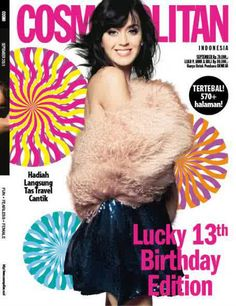Cosmopolitan Indonesia September 2010 Katy Perry