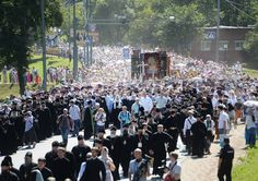 People of the XXI Century Walk After the Venerable One