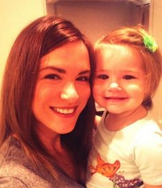 Danneel Ackles with Justice Jay