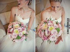 heavenly pink bouquet + gorgeous bride | CHECK OUT MORE IDEAS AT WEDDINGPINS.NET | #weddings #weddingflowers #weddingbouquets #bouquets