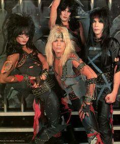 Gotta love some 1980 Motley Crüe !