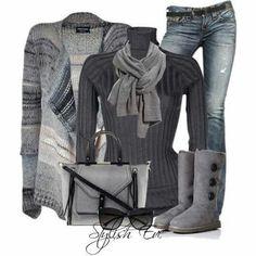 Fashionable and warm