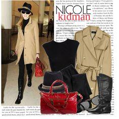 """""""560. Celeb Style : Nicole Kidman (06.04.2010)"""" by munarina on Polyvore"""