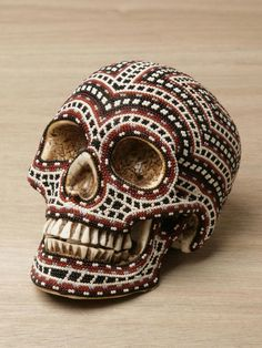 Our Exquisite Corpse Huichol Skull
