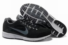 0aefee88c2152 Nike Lunarspider Shoes Black Gray For Men Running Shoes Nike