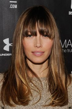 Flattering Haircuts for Women in Their 30s: Long Hair With Bangs