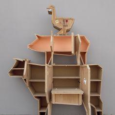 Spændende, sjove og dekorative Sending Animals kommoder fra Seletti.