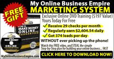 This 21 Step System Is Guaranteed To Make You At Least $1,000 within 30 Days. http://www.myonlinebusinessempire.com/go/a34Jgg/df14e773/AMP6