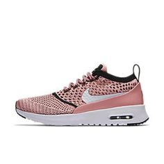 best service 74abe 69e84 Nike Air Max Thea Flyknit Bright Melon Black White Shoes OUR most shelves, diverse  styles, bright colors fashion.