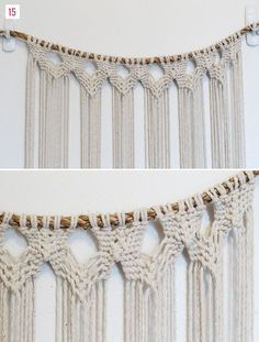 DIY Macrame Hanging | Green Wedding Shoes Wedding Blog | Wedding Trends for Stylish + Creative Brides #SilkyJean #Bohemian #Boho