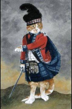 Major Montgomerie Hugh (John Singleton Copley) by Susan Herbert Crazy Cat Lady, Crazy Cats, Gatos Cats, Cat Cards, Greeting Cards, Vintage Cat, Animal Party, Beautiful Cats, Cool Cats
