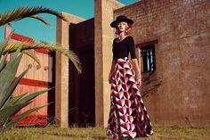 visual optimism; fashion editorials, shows, campaigns & more!: la hacienda: annabella barber by amanda fordyce for mister zimi autumn / winter 2015