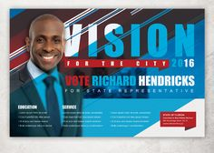 Vision Political Flyer Template by loswl on Creative Market