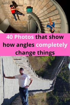 We've all seen photos that appear to be one way, but are actually completely different. All it takes to is come clever angles, a camera, and some willing participants to create a photo that completely tricks people. The people in these 40 photos, so exactly that and the pictures they make are way too cool to miss!