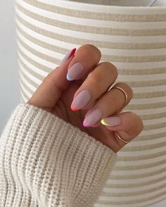 In summer I always like to wear a lot of color on my nails. Not only on my nails but my clothing too haha. So these super cool nails are perfect for upcoming spring and summer. They are colorful but… Summer Acrylic Nails, Cute Acrylic Nails, Cute Nails, Glitter Nails, Spring Nails, Cute Simple Nails, Autumn Nails, Pastel Nails, Gold Nails