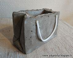 Tinen askartelupaja: Lisää betoniaskartelua