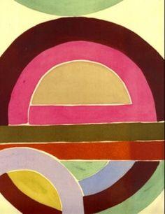 Luli Sanchez - geometric, printed textile design