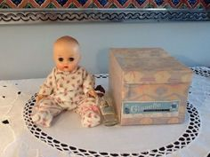 1950's Vinyl Ginnette In Original Box. Perfect!