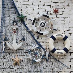 7cm Beach Seaside Nautical Shell Starfish for Home Party Wall Fishing Net Decor