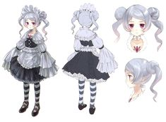Hom Female Concept from Atelier Rorona: The Alchemist of Arland