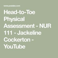 Instant download and all chapters test bank physical examination and head to toe physical assessment nur 111 jackeline cockerton youtube fandeluxe Image collections