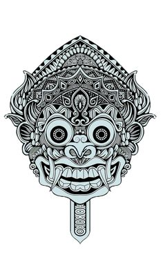 Discover recipes, home ideas, style inspiration and other ideas to try. Kunst Tattoos, Body Art Tattoos, Mandala Tattoo, Mandala Art, Balinese Tattoo, Mayan Tattoos, Barong, Tribal Sleeve Tattoos, Aztec Art