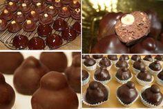Baci perugina: 200 g di nocciole; 300 g di nutella; 150 g di cioccolato al…