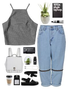 """Untitled #572"" by amy-lopezx ❤ liked on Polyvore featuring moda, Jagger, Proenza Schouler, Boutique, Marc Jacobs, San Crispino, Retrò, Aesop, Ethan Allen ve OUTRAGE"