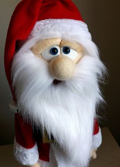 Santa Claus Handmade Professional Puppet by OutofCharacterCreate