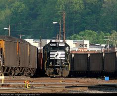 RailPictures.Net Photo: NS 3007 Norfolk Southern EMD GP40-2 at Williamson, West Virginia by David Price