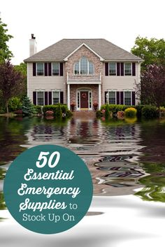 50 Essential Emergency Supplies to Stock Up On - items to stock up on in your home just in case!
