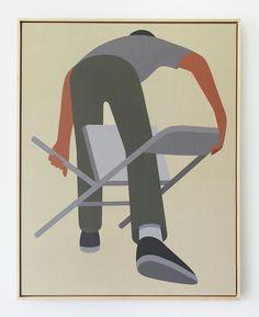 Geoff McFetridge. Painting