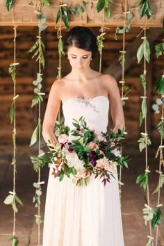 airy romantic wedding inspiration - photo by Briana Arlene Photography http://ruffledblog.com/airy-romantic-wedding-inspiration