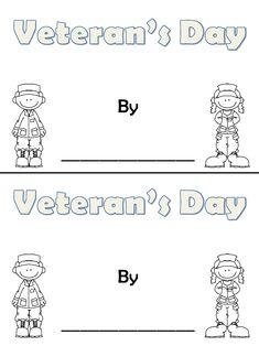 veterans day activities for first grade free
