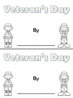 Fun in First Grade: Veteran's Day