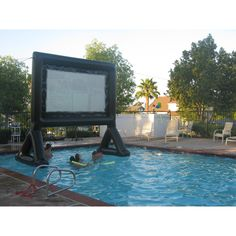 Movie in A Pool Anyone?