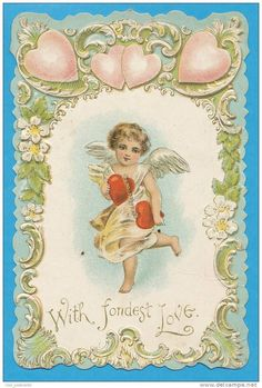 Old Paper > Chromos & Images > Victorian die-cuts > 1900-1929 > Angels - Delcampe.net