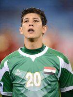 Fussball International Gulf Cup 2013:  Dhurgham Ismael (Irak)