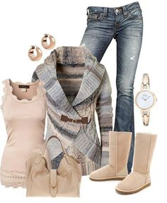 cosy winter outfit
