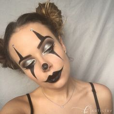 #clown #makeup and more #halloween looks