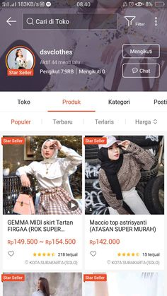 Best Online Clothing Stores, Online Shopping Sites, Trendy Outfits, Fashion Outfits, Womens Fashion, Online Shop Baju, Kebaya Dress, Casual Hijab Outfit, Korean Fashion