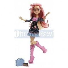 Monster High Howlywood Deluxe příšerka Viperine Gorgon