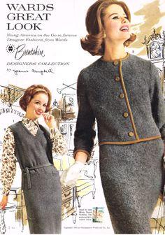 Ward's Brentshire designer fashions, 1962 ~Something similar to what my Mom had! ~Sorry Brad!