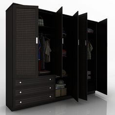 5 DOOR DESIGNER WARDROBE ONLINE FURNITURE