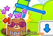 Bonito juego que puede jugarse con 2 player, donde tienes que dar a martillazos a los topos que salgan del hoyo. http://www.ispajuegos.com/jugar7851-Mole-Hammers.html
