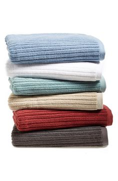Nordstrom+at+Home+'Modern+Rib'+Bath+Towel+(2+for+$39)+available+at+#Nordstrom