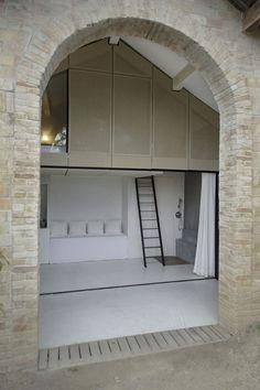 Pavillon d'été - Noémie Meney - Toulon France - Tiny House - Entrance - Humble Homes