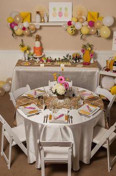 pineapple crush bridal shower bridalwedding shower party ideas