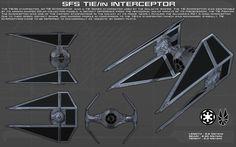 TIE/IN Interceptor ortho [New] by unusualsuspex on DeviantArt